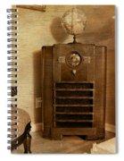 Zenith Consol Radio 1940's  Spiral Notebook