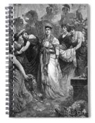 Zenobia (d. After 274 A.d.) Spiral Notebook