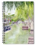 Zhou Zhuang Watertown Suchou China 2006 Spiral Notebook
