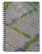 Zig-zagging Spiral Notebook