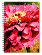 Zinnia Blast Spiral Notebook