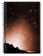 Zodiacal Light Spiral Notebook