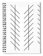 Zoellner Illusion Spiral Notebook