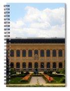 Zoology Building Paris Spiral Notebook