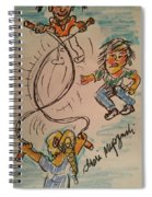 A Child's Play Time Spiral Notebook