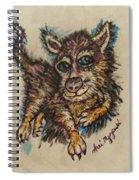 Blue Eyed Husky Spiral Notebook
