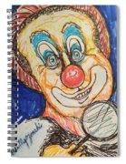 Happy Clown Spiral Notebook
