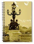 # 10 Paris France Spiral Notebook