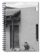 Adobe House  Spiral Notebook
