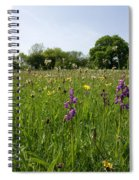 Ancient Hay Meadow Spiral Notebook