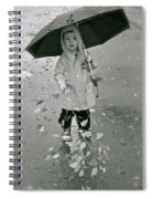 ... Another Rainy Day  Spiral Notebook