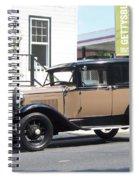 Antique  Car  Spiral Notebook