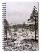 April Snow 1 Spiral Notebook