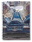 Asphalt Paver Spiral Notebook