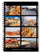 ' Australia Rocks ' - Bay Of Fires - Tasmania Spiral Notebook