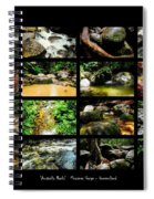 ' Australia Rocks ' Mossman Gorge - North Queensland Spiral Notebook