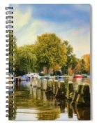 Autumn Day Spiral Notebook