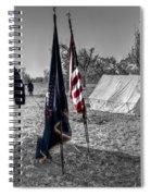 Battle Of Honey Springs V15 Spiral Notebook