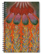 Becoming Rooted Spiral Notebook