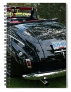 Black And Chrome 13130 Spiral Notebook