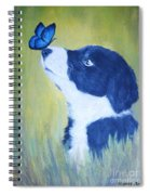 Border Collie Spiral Notebook