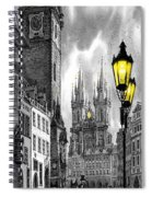 Bw Prague Old Town Squere Spiral Notebook