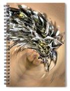 Cottongrass Spiral Notebook