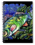 Dear Lord  Please Let Me Catch A Fish Spiral Notebook
