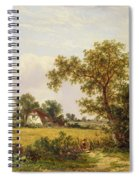 Essex Landscape  Spiral Notebook