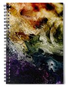 Fiery Spiral Notebook