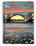 Folsom Bridge Spiral Notebook