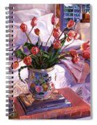 Fresh Tulips Spiral Notebook