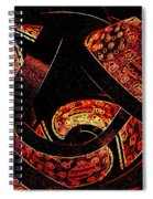 Galactic Flow Spiral Notebook