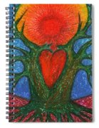 Greeting Of Joy Spiral Notebook