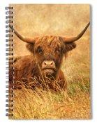 Happy Highlander Spiral Notebook