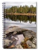Haukkajarvi Landscape Spiral Notebook