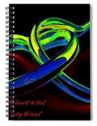 Heart Rings Spiral Notebook
