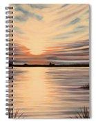 Highlights Of A Sunset Spiral Notebook