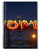 Holiday World 4 Spiral Notebook