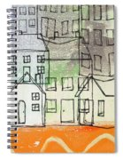Houses By The River Spiral Notebook