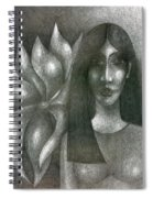 I And My Flower  Spiral Notebook