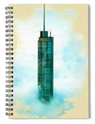 Illustration Of  Trump Tower Spiral Notebook