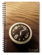 In Waves Of Lost Time Spiral Notebook