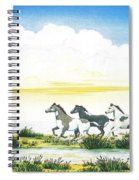 Indian Ponies Spiral Notebook