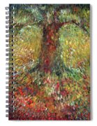 Invisible Tree Spiral Notebook