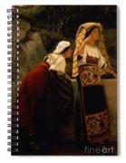 Italian Women From Abruzzo  Spiral Notebook