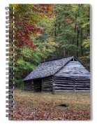 Jim Bales Place Barn Along Roaring Fork Motor Trail Spiral Notebook