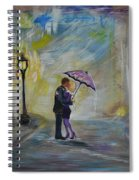 Kiss Me Taxi Is Here Spiral Notebook