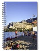 Lifeguard On Duty Spiral Notebook