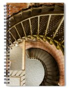 Lighthouse Stairs Cape Blanco Oregon 1 Spiral Notebook